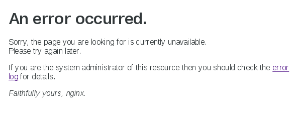 nginx_Error_disk_empty