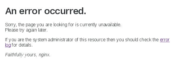 nginx_Error_disk_empty