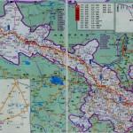 甘肃地图全省地图