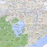 杭州地图西湖地图